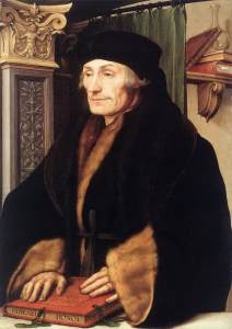 Erasmus in 1523, Hans Holbein the Younger