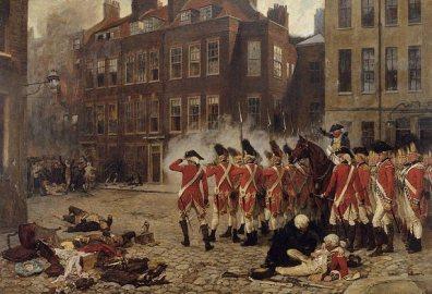 The Gordon Riots by John Seymour Lucas